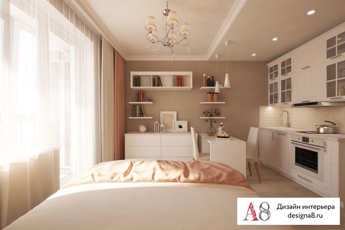 Дизайн трехкомнатной квартиры 81 кв.м в спб